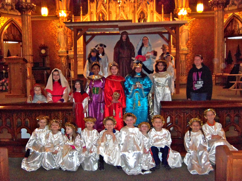 photo below) Saint Stanislaus Church,Amsterdam, NY